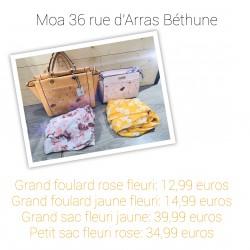 Foulard et sac