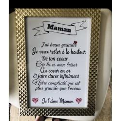 """Cadre """" Maman """""""