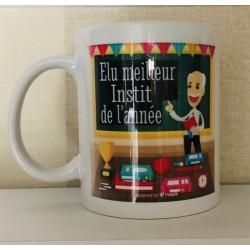 """Mug """" Elu meilleur instit..."""