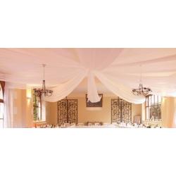 Rosace de plafond blanche