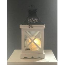 Lanterne blanche 35 cm