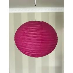 Boule chinoise fushia 40 cm