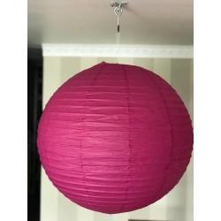 Boule chinoise fushia 60 cm