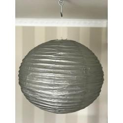 Boule chinoise grise 50 cm