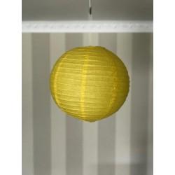 Boule chinoise jaune 30 cm
