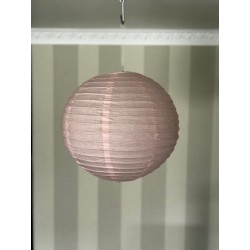 Boule chinoise rose 25 cm