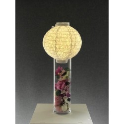 Lanterne lumineuse ivoire
