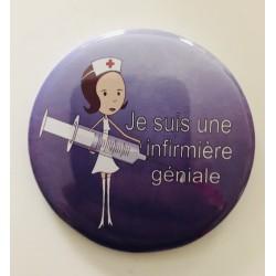 """Badge """" Je suis une..."""