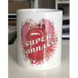 """Mug """" Super connasse """""""