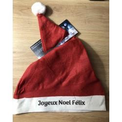 Bonnet de Noel personnalisé