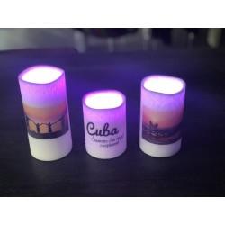 Bougies LED télécommandées