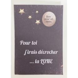 """Carte à gratter """" Pour toi..."""