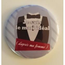 """Magnet """" Je suis le mari..."""