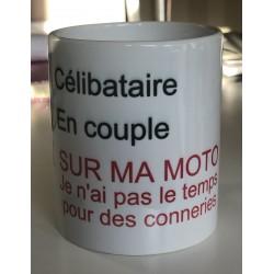"Mug "" Célibataire, en..."